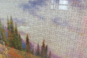 Beautiful puzzle donated to Holy Family College